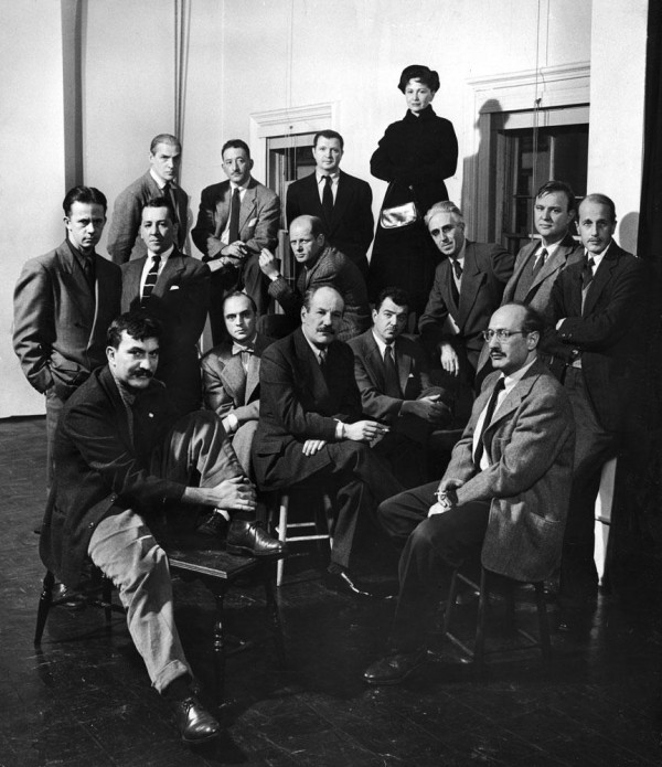 The « Irascibles » in the January 15, 1951 issue of Life magazine Front row: Theodoros Stamos, Jimmy Ernst, Barnett Newman, James Brooks, Mark Rothko Middle row: Richard Pousette-Dart, William Baziotes, Jackson Pollock, Clyfford Still, Robert Motherwell, Bradley Walker Tomlin Back row: Willem de Kooning, Adolph Gottlieb, Ad Reinhardt, Hedda Sterne.