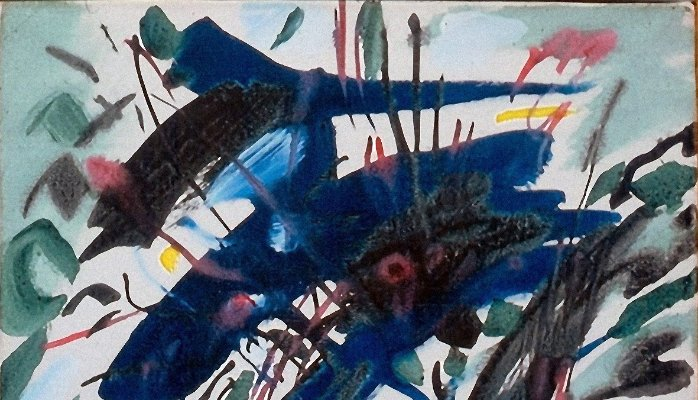 Jean Degottex, French painter (1918-1988), first period : 1918-1954 | Caroline Bouteiller-Laurens | LinkedIn