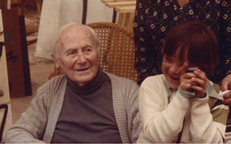 My grandfather Joan Miró