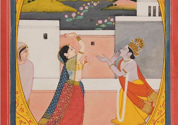 Love stories in Indian Art