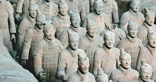 Les Découvertes Archéologiques : Chine: la célèbre armée de terre cuite aurait été faite avec l'aide des grecs